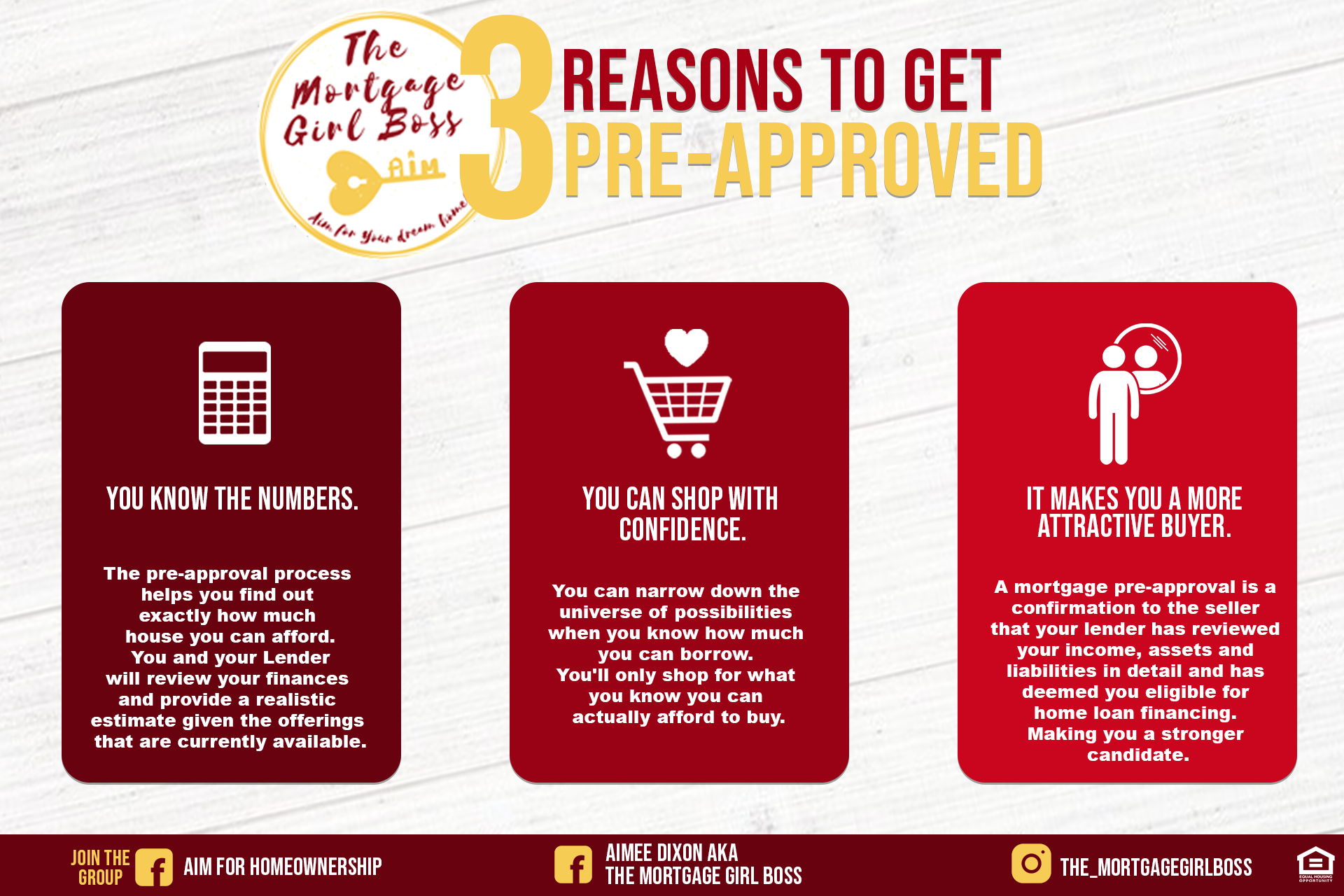 3 reasons preapproval